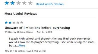 Massive Einschränkungen: Apple beschränkt VGA-Adapter fürs iPad