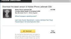 Pic of the Day: Adobe Jailbreak CS5