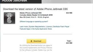 Pic of the Day: Adobe Jailbreak CS5