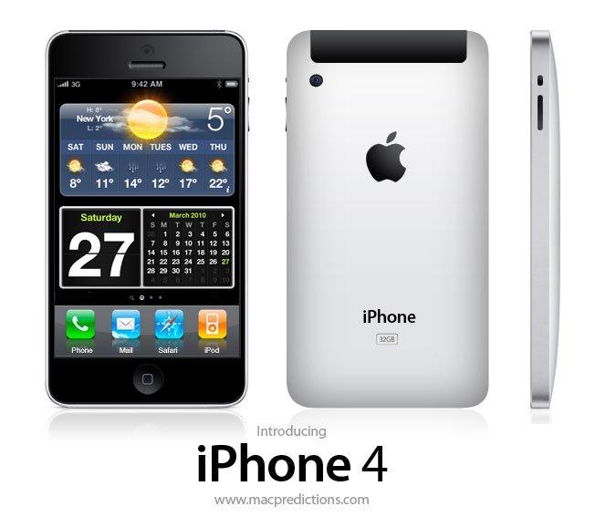 Mac Preditions: iPhone 4 Konzept