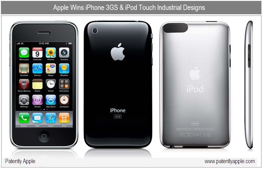 Apple patentiert iPhone und iPod touch Design