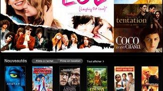 Filme im französischen iTunes Store