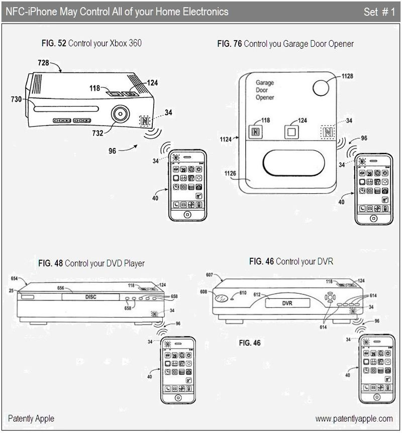 Apple-Patent bringt Near-Field-Communication aufs iPhone