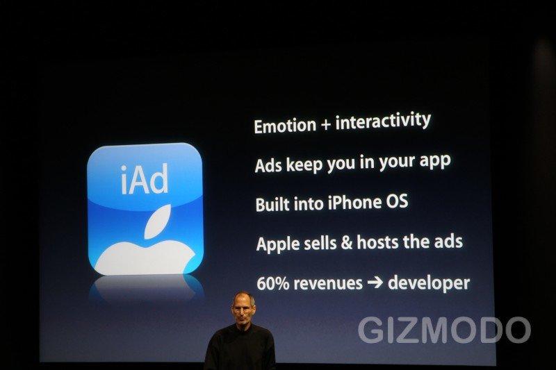 Apple iAds: Werbung ab 1 Million Dollar