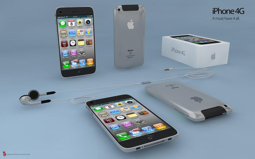 iPhone 4G: Neues Konzept mit OS 4.0