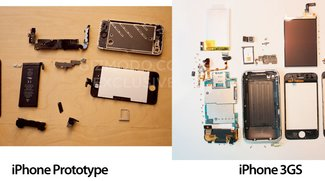 Pic of the Day: iPhone Prototyp in Einzelteilen