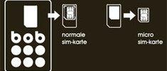 "Mobilfunkanbieter ""bob"" bietet Verträge mit micro Sim-Karten"
