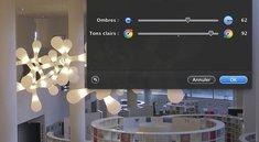 Schatten- und Highlight-Funktion in Pixelmator