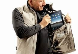 SeV Travel Vest: Weste mit iPad-Fach
