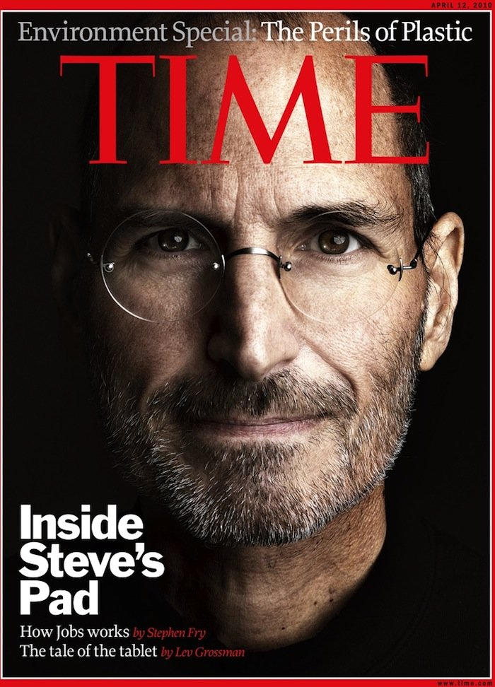Steve Jobs und iPad als TIME Coverstory