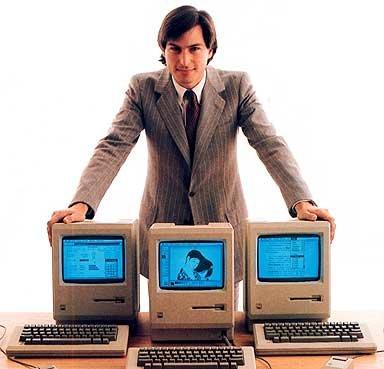 Steve Jobs benutzt Mac OSX 10.5?