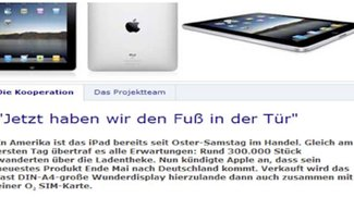 iPad: O2 Deutschland arbeitet mit Apple zusammen