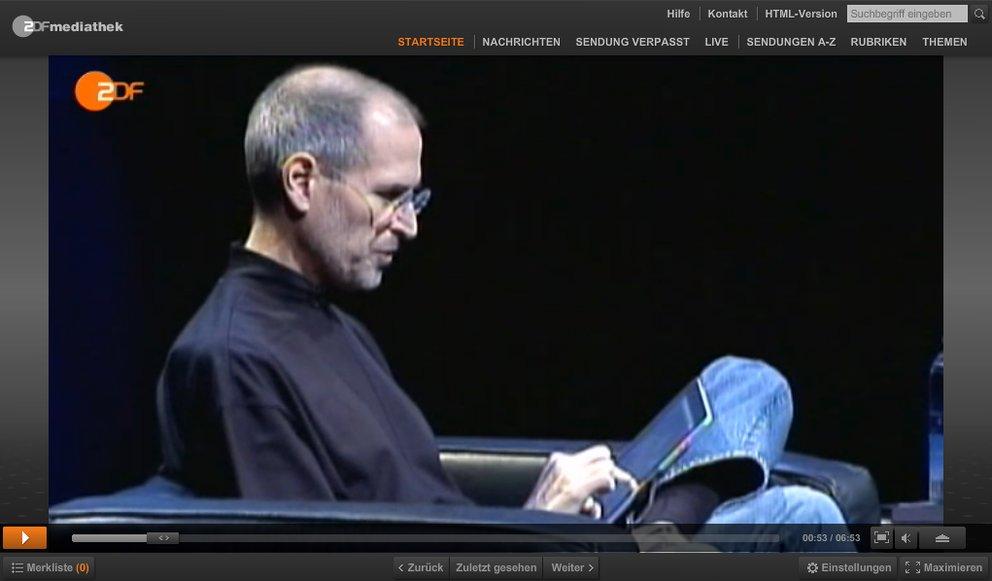 "Jetzt in der Mediathek: ""Steve Jobs – der digitale Diktator?"""