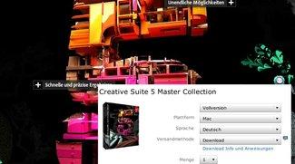 CS5 steht in deutscher Version als Download bereit