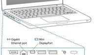 Neues MacBook: Mini DisplayPort überträgt Audio-Signal