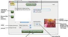 Tool versieht Bilder mit Wasserzeichen und Copyright-Vermerk