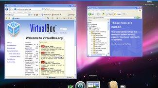 VirtualBox 3.2 von Oracle virtualisiert Mac OS X