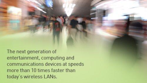 WiGig: Funktechnologie mit 7Gbit/s - 10 mal schneller als Wlan (802.11n)