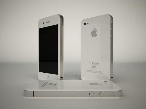 iPhone 4G: Mockups in Weiß