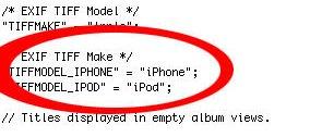 iPhone OS 4: Hinweise auf iPod-Kamera