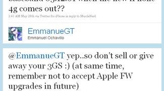 MuscleNerd: Unlock für iPhone 3GS mit Firmware 3.1.3 kommt