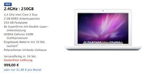 Apple: Neues MacBook verfügbar
