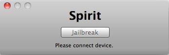 Spirit Jailbreak für Firmware 3.1.3