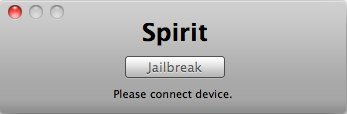 Spirit: Firmware 3.1.2/3.1.3/3.2 Jailbreak für iPhone, iPod touch, iPad