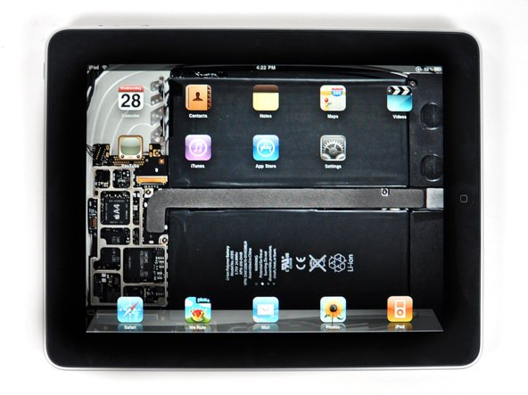 iFixit-Wallpaper ermöglicht Blick ins iPad-Innere