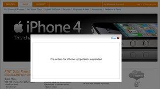 Massive Serverprobleme: AT&amp&#x3B;T stoppt iPhone 4 Vorverkauf