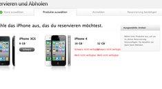 Neues iPhone im Apple-Store ausverkauft (Update: Telekom-Statement)