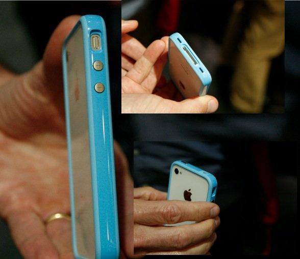 Fotos von Apples eigenem iPhone-Schutz