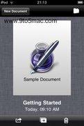 Erste Bilder von iWork-App fürs iPhone