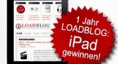 Loadblog verlost zum Jubiläum ein iPad