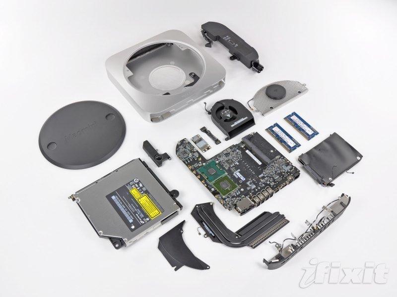 iFixit seziert den neuen Mac mini