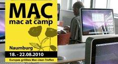 Countdown für Mac at Camp: Mac-User treffen sich in Naumburg