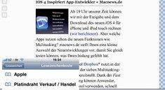 Safari 5-Reader: So bekommt man ihn aufs iPhone