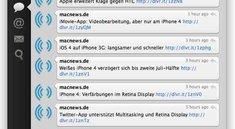 Update für die Mac-Version von Tweetie