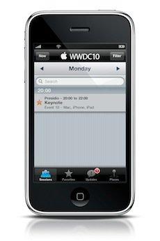 WWDC Applikation für Besucher verfügbar