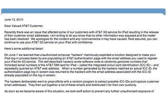 iPad 3G: AT&amp&#x3B;T entschuldigt sich für Hacker-Angriff