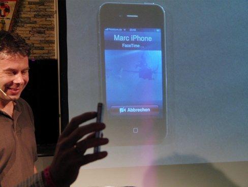 Skype ist an FaceTime interessiert - Videokonferenz