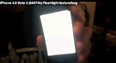 OS 4.0 Beta 4: Taschenlampenfunktion intigriert