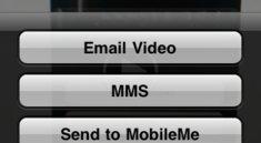 iOS 4: Video-Export direkt in Facebook