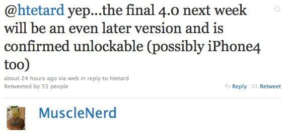 Richtigstellung: iOS 4 entsperrbar! iPhone 4 vielleicht auch