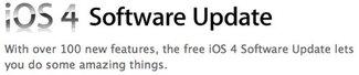 iOS 4 für iPhone 3G, 3GS &amp&#x3B; iPhone 4 veröffentlicht [Update 2]