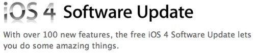 iOS 4 für iPhone 3G, 3GS & iPhone 4 veröffentlicht [Update 2]