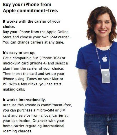iPhone 4: Simlock-frei in England, Frankreich, Kanada