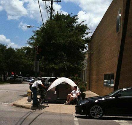 Der erste iPhone 4 Camper in Bild und Video