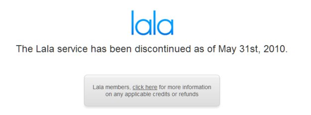 Lala verabschiedet sich