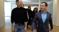 Russischer Präsident besucht Apple